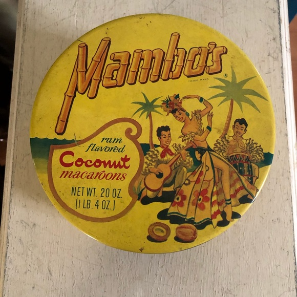 Vintage Collectible Tin Canister